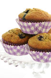 Blueberry banana muffins Stock Image