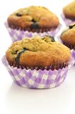 Blueberry banana muffins Stock Photo