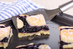 Blueberry Bars Royalty Free Stock Photos