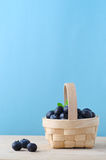 Blueberry Basket Royalty Free Stock Photo