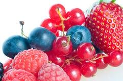 Blueberry, blackberry, raspberry. Stock Images