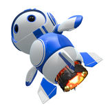 Blueberry Bot with Upgraded Jets Stock Photo