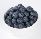 Blueberry in the bowl Stock Image