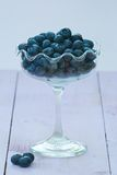 Blueberry Bowl Royalty Free Stock Photos