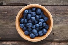 Blueberry in a bowl Royalty Free Stock Photo