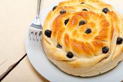 Blueberry bread cake dessert Stock Images