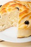 Blueberry bread cake dessert Stock Photography