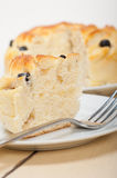 Blueberry bread cake dessert Royalty Free Stock Images