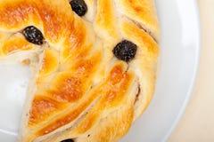 Blueberry bread cake dessert Royalty Free Stock Photos