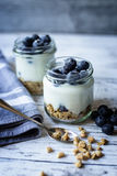 Blueberry breakfast Royalty Free Stock Images