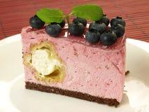 Blueberry cake Stock Image