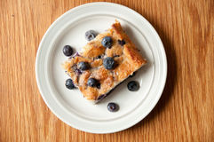 Blueberry cake with blueberries Stock Photography