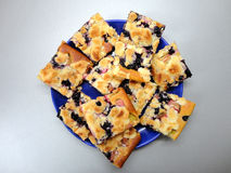 Blueberry cake Stock Photos