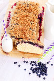 Blueberry cake Royalty Free Stock Image