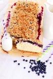 Blueberry cake Royalty Free Stock Image