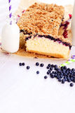 Blueberry cake Stock Photo