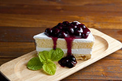Blueberry Cake Royalty Free Stock Photography