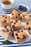 Blueberry cake Stock Photos