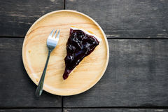 Blueberry cake Royalty Free Stock Photo