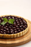Blueberry cheese cake Royalty Free Stock Photography