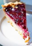 Blueberry cheese cake Stock Photography