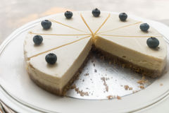 Free Blueberry Cheese Cake Royalty Free Stock Photography - 78061737