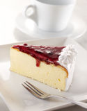 Blueberry cheesecake Royalty Free Stock Photography