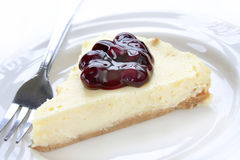 Blueberry Cheesecake Royalty Free Stock Photos