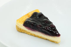 Blueberry Cheesecake Stock Images