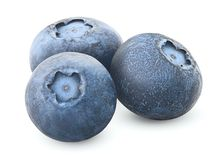 Blueberry, clipping path, isolated stock photography