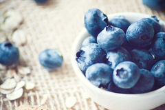 Blueberry close up Royalty Free Stock Photos