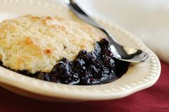 Blueberry Cobbler Royalty Free Stock Image