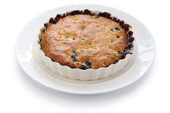 Blueberry cobbler Royalty Free Stock Photography