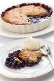 Blueberry cobbler Royalty Free Stock Photo