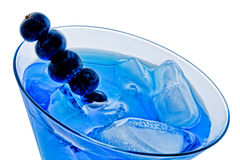 Blueberry Cocktail Royalty Free Stock Photography
