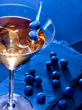 Blueberry cocktail  on black background 81 Stock Photos