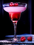 Blueberry cocktail  on black background 72 Stock Image