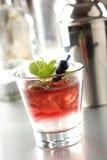 Blueberry cocktail Stock Photos
