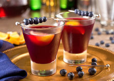 Blueberry Cocktail Royalty Free Stock Image