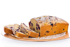 Blueberry Cornmeal Loaf Royalty Free Stock Image