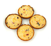Blueberry and cranberry muffins Stock Photography