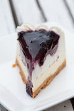 Blueberry Cream Cheese cake Royalty Free Stock Images