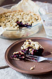 Blueberry crumble Royalty Free Stock Image