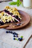 Blueberry crumble Stock Image