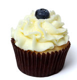 Blueberry Cupcake Royalty Free Stock Image