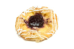 Blueberry Danish Stock Photography