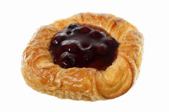 Blueberry danish Royalty Free Stock Image
