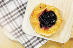 Blueberry danish Stock Photo