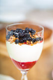 Blueberry dessert Royalty Free Stock Photography