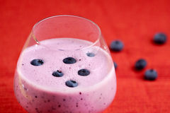 Blueberry Drink Stock Image